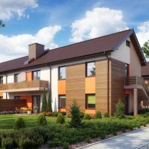 casa cu etaj duplex