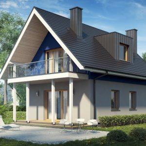 casa mansarda moderna