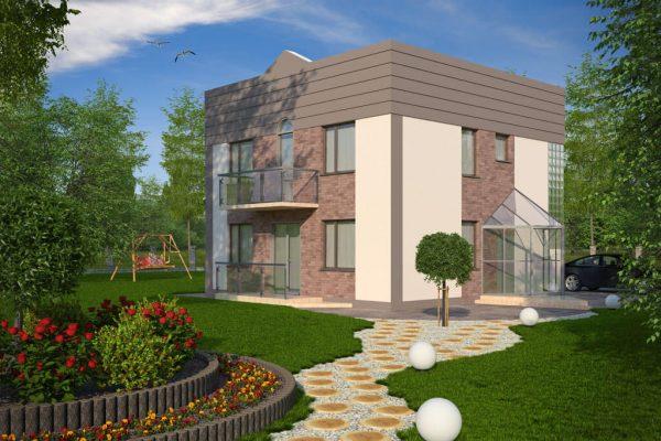 proiect casa vila mica